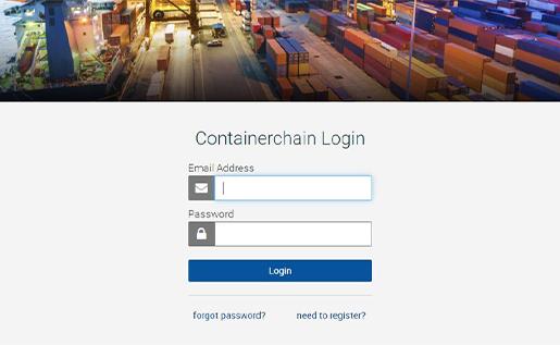 Login Containerchain
