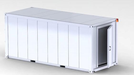 Frozen Cold Storage Room