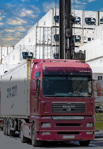 CCIS, CCIS Network, Inland Transport, container transport, truck transport container, barge transport container, rail transport container